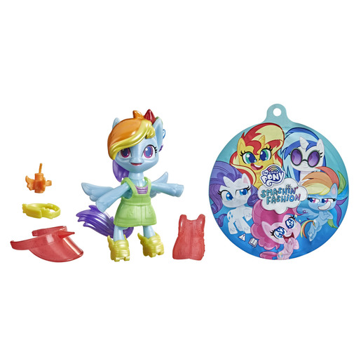 My Little Pony Smashin Fashion Figure- Rainbow Dash