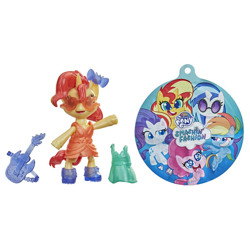 My Little Pony Smashin Fashion Figure- Sunset Shimmer