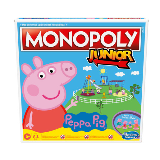 Monopoly Junior Game: Peppa Pig Edition