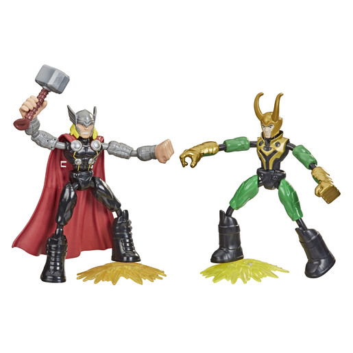 Bend & Flex Marvel Figure - Thor Vs Loki