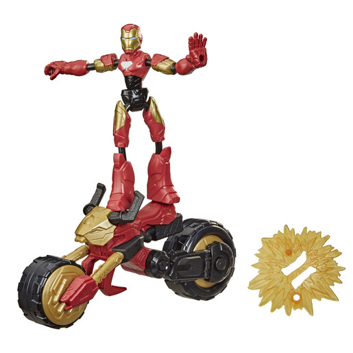 Bend & Flex Marvel Figure   Flex Rider Iron Man