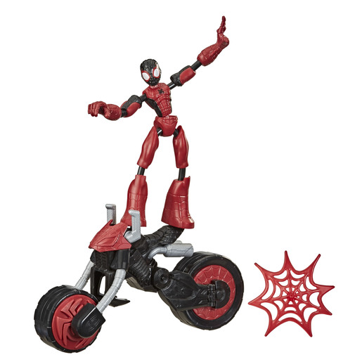 Bend & Flex Marvel Figure - Flex Rider Spider-Man