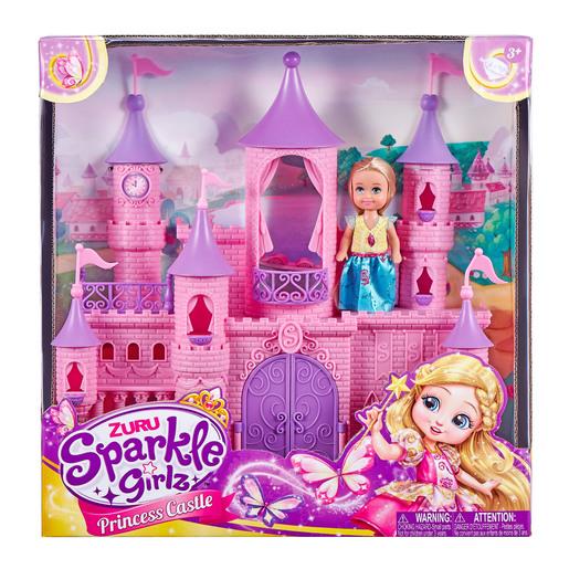 Sparkle Girlz - Mini Castle with Cupcake Doll