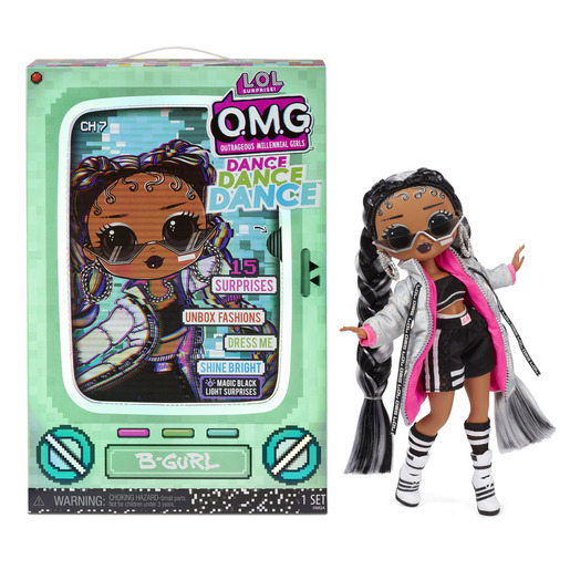 L.O.L. Surprise! Outrageous Millennial Girls Dance Fashion Doll - B-Gurl