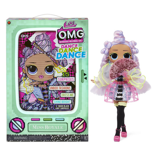 L.O.L. Surprise! Outrageous Millennial Girls Dance Fashion Doll - Miss Royale