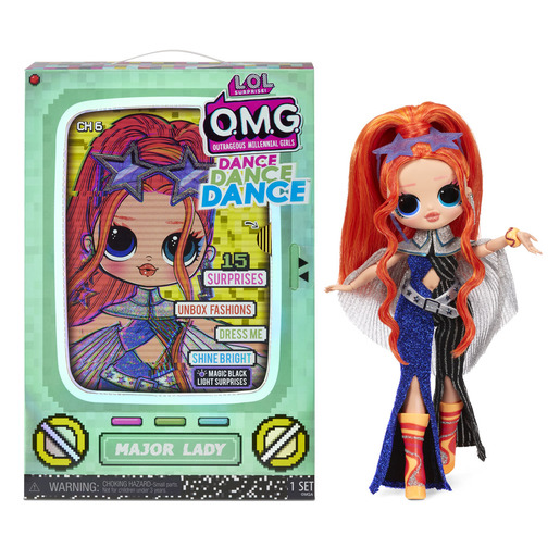 L.O.L. Surprise! Outrageous Millennial Girls Dance Fashion Doll - Major Lady