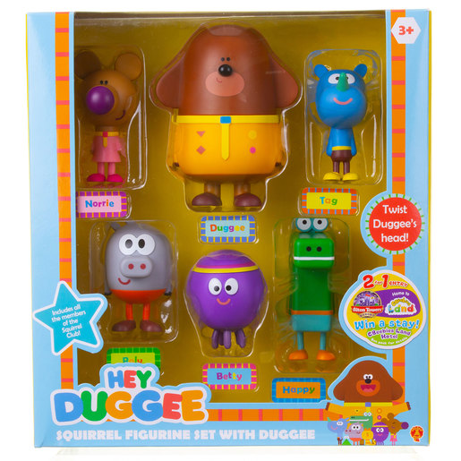 Squirrel Figurine Set with Duggee