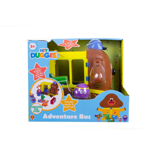 Hey Duggee Adventure Bus and Playset