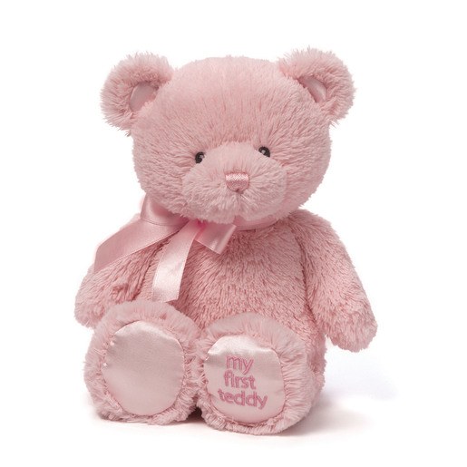 Baby GUND: My First Teddy 25 cm Plush - Pink from TheToyShop