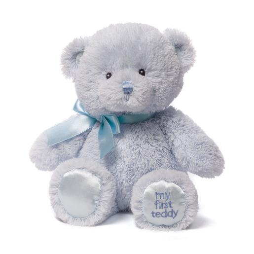 Baby GUND: My First Teddy 25 cm Plush - Blue from TheToyShop