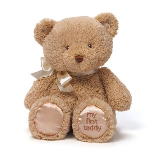 Baby GUND: My First Teddy 25 cm Plush - Tan from TheToyShop