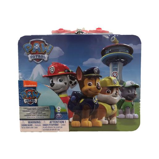 Paw Patrol Puzzle Tin
