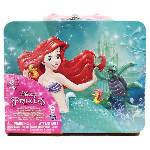 Disney Princess Puzzle Tin