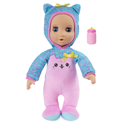 Luvzies by Luvabella - 28cm Kitten Onesie Baby Doll