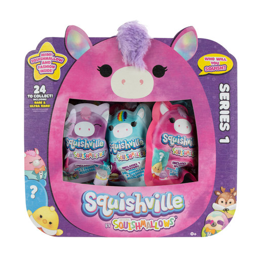 Squishville Mystery Mini-Squishmallows (Styles Vary)