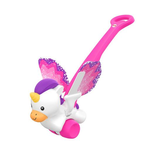 Fisher Price   Push & Flutter Unicorn
