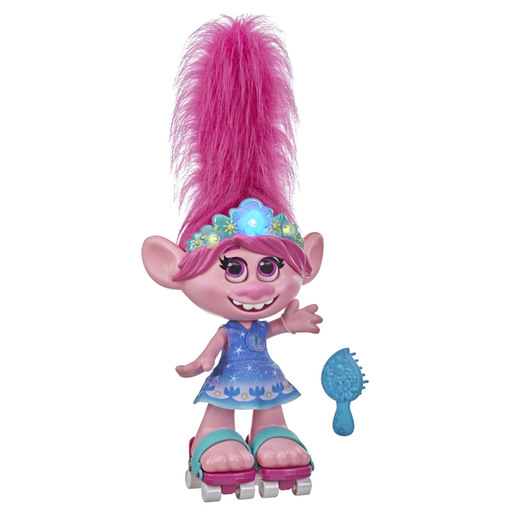 Dreamworks Trolls Work Tour Doll - Dancing Hair Poppy