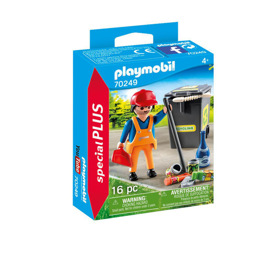 Playmobil 70249 Special Plus Street Cleaner Playset