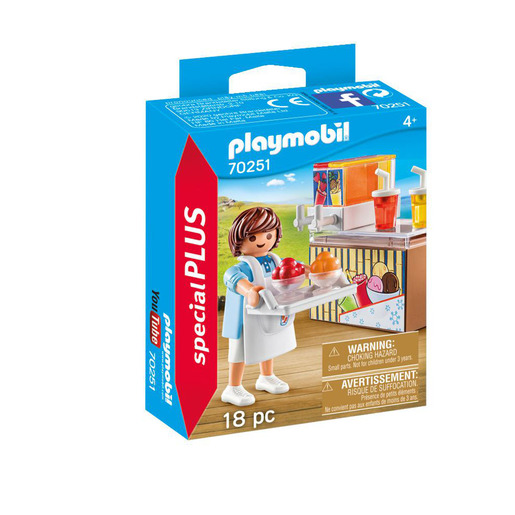 Playmobil 70251 Special Plus Street Vendor Playset