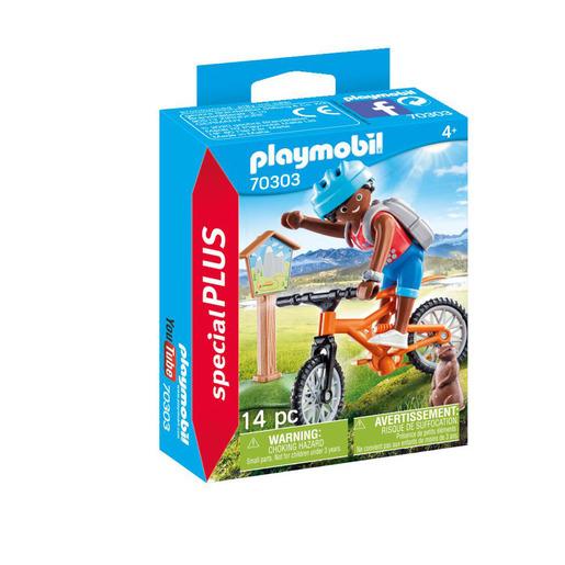Playmobil 70303 Special Plus Mountain Biker Playset