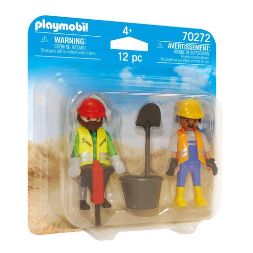 Playmobil 70272 Construction Workers Duo Pack