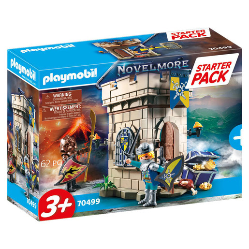 Playmobil 70499 Novelmore Knights Fortress Large Starter Pack Playset