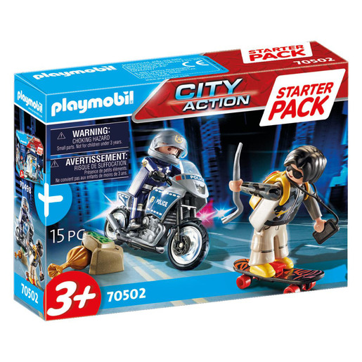 Playmobil 70502 City Action Police Chase Small Starter Pack Playset