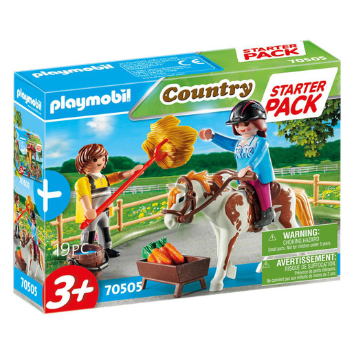 Playmobil 70505 Country Horseback Riding Small Starter Pack Playset