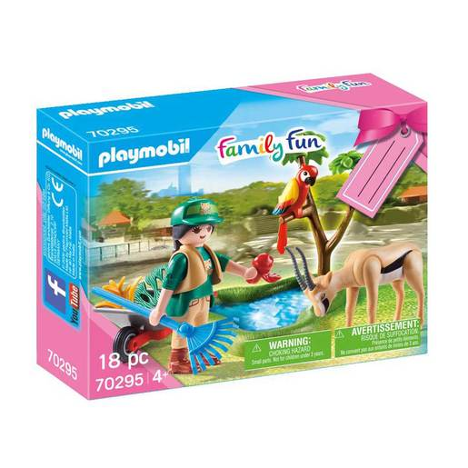 Playmobil 70295 Zoo Gift Set