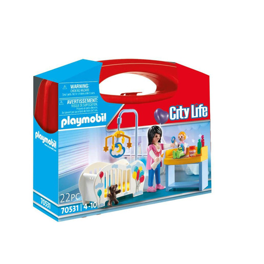 Playmobil 70531 City Life Nursery Small Carry Case Playset