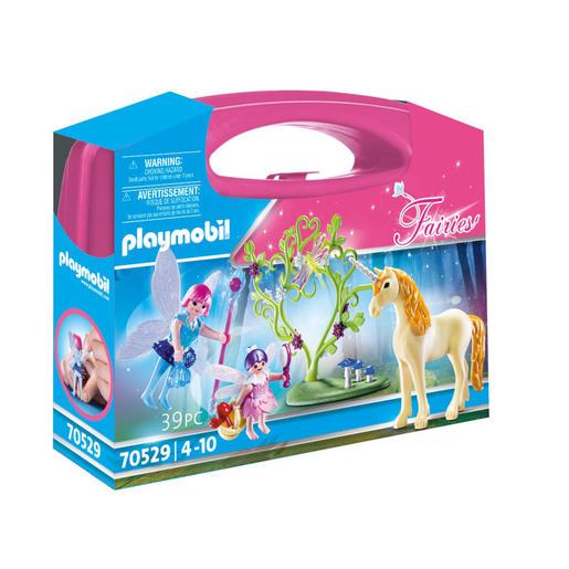 Playmobil 70529 Fairy Unicorn Large Carry Case Playset