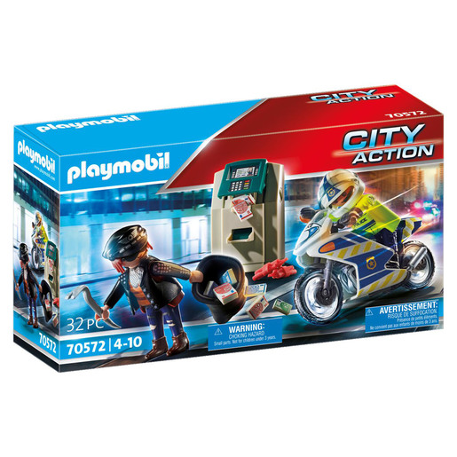 Playmobil 70572 City Action Police Bank Robber Chase