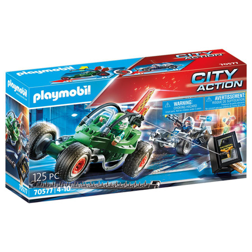 Playmobil 70577 City Action Police Go-Kart Escape
