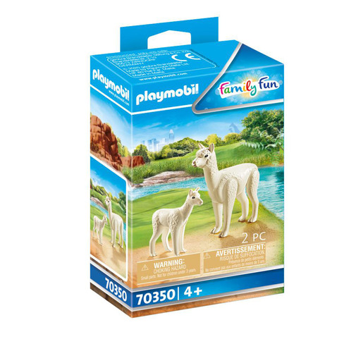 Playmobil 70350 Family Fun Alpaca with Baby