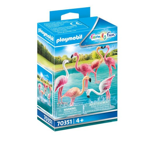 Playmobil 70351 Family Fun Flock of Flamingos