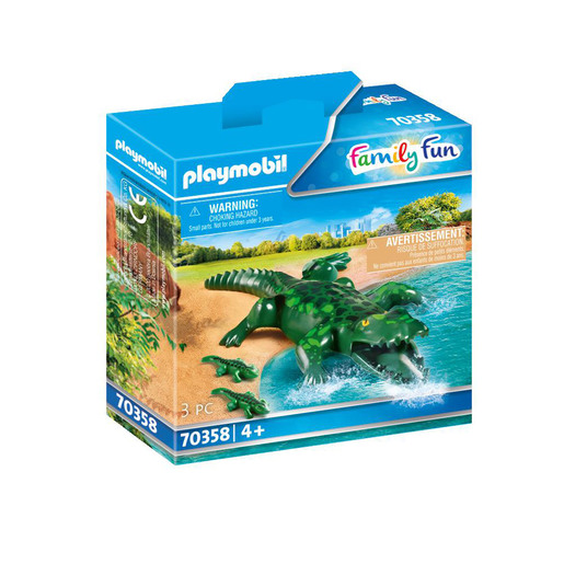 Playmobil 70358 Family Fun Alligator with Babies