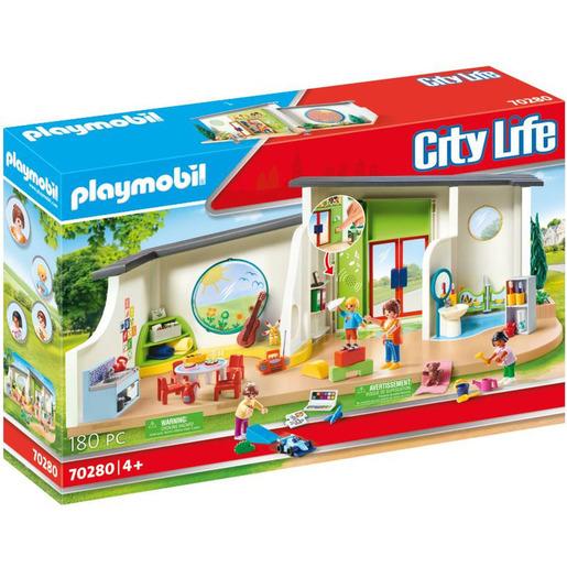 Playmobil 70280 City Life Pre-School Rainbow Daycare Playset