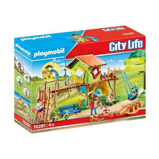 Playmobil 70281 City Life Pre School Adventure Playground Playset