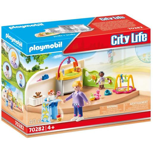 Playmobil 70282 City Life Pre-School Toddler Room Playset