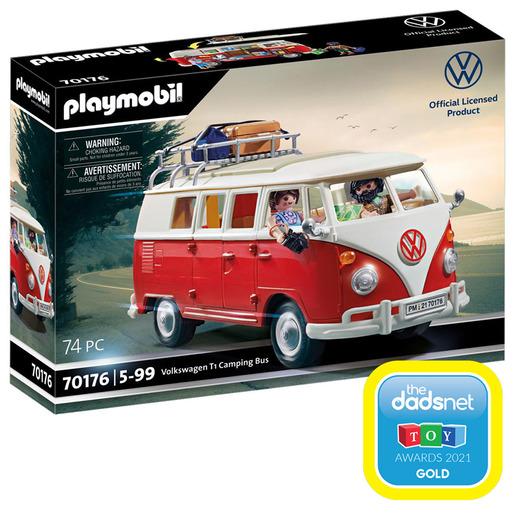 Playmobil 70176 VW Camping Bus Set
