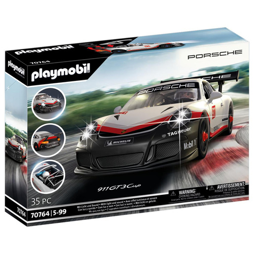 Picture of Playmobil 70764 Porsche 911 GT3 Cup Car Playset