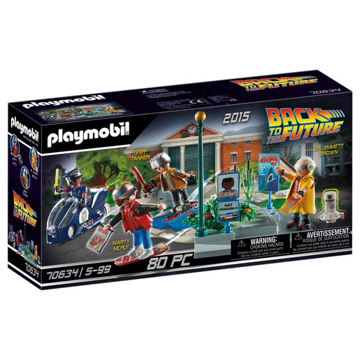Playmobil 70634 Back to the Future Part II - Hoverboard Chase