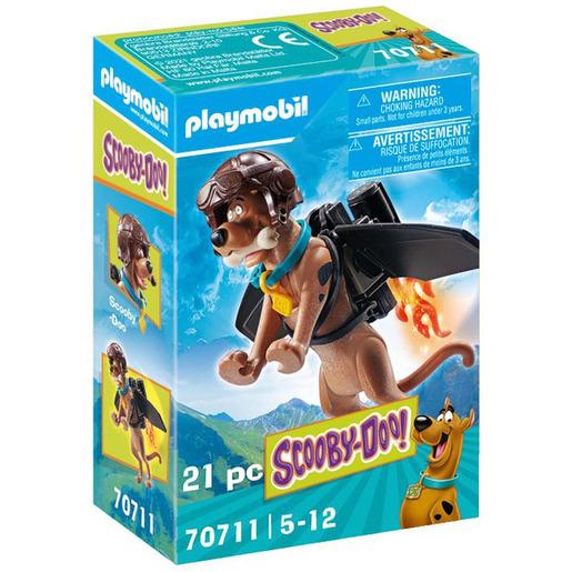 Playmobil 70711 Scooby Doo! Collectible Pilot Figure Playset