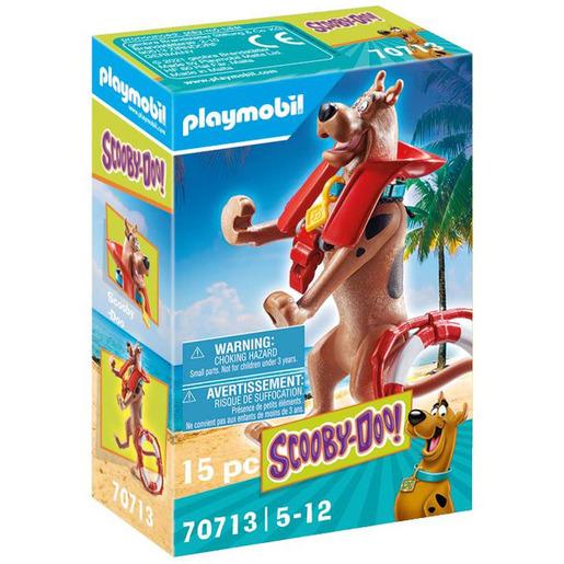 Playmobil 70713 Scooby Doo! Collectible Lifeguard Figure Playset