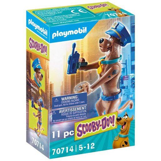 Playmobil 70714 Scooby Doo! Collectible Police Figure Playset