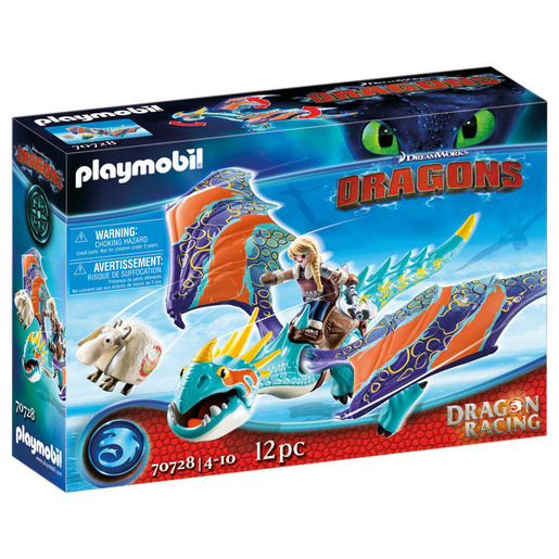 Playmobil 70728 How To Train Your Dragon: Dragon Racing Astrid And Stormfly