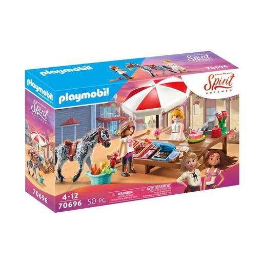 Playmobil 70696 DreamWorks Spirit Untamed Miradero Candy Stand