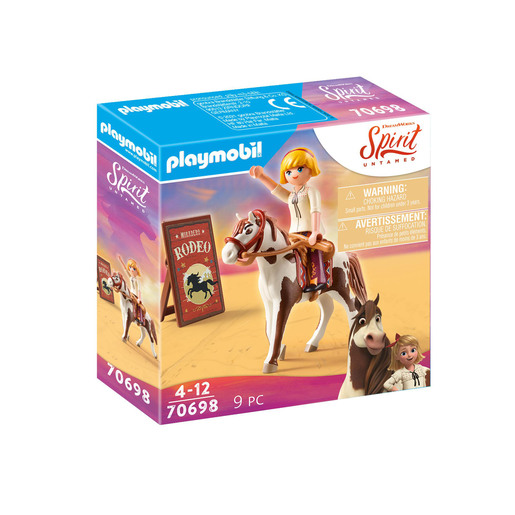 Playmobil 70698 DreamWorks Spirit Untamed Rodeo Abigail Playset