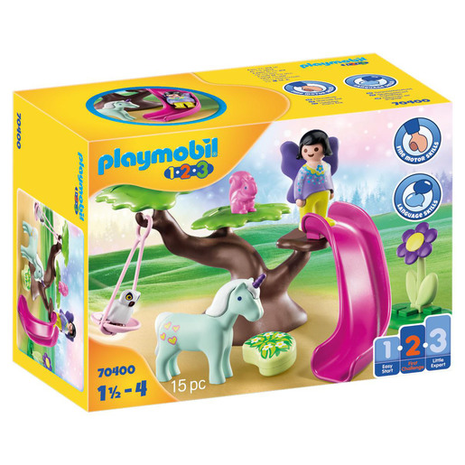 Playmobil 70400 1.2.3  Fairy Playground Playset