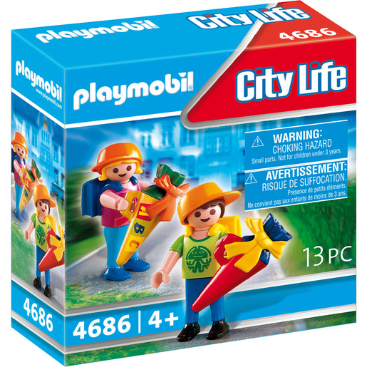 Playmobil 4686 City Life First Day at School Figures